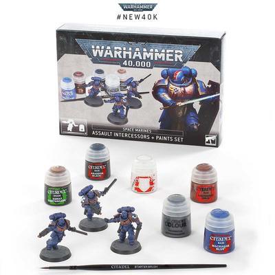 S/M Assault Intercessors Paint Set