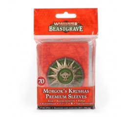 Whu: Morgok's Krushars Premium Sleeves