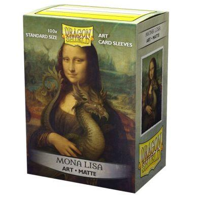 Dragon Shield Classic Matte Art Mona Lisa Sleeves 100ct