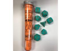 Heavy Turquoise/Orange 7-Die Set