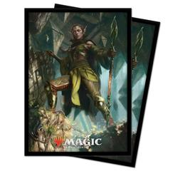 Magic Zendikar Rising Nissa Deck Protector 100ct