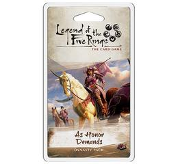 L5R LCG: As Honor Demands