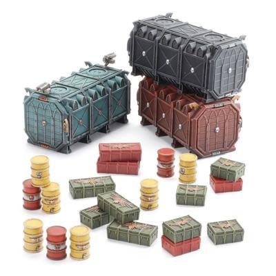 Battlezone: Munitorum Armoured Containers