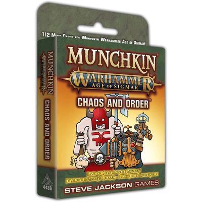 Munchkin Warhammer Age of Sigmar: Chaos and Order