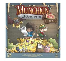 Munchkin Dungeon: Side Quest Exp