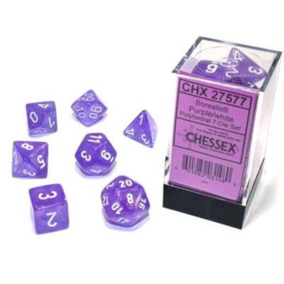 Borealis Luminary Purple/White 7-Die Set