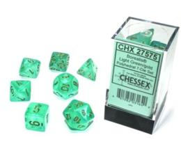 Borealis Luminary Light Green/Gold 7-Die Set