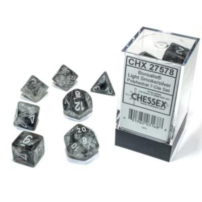 Borealis Luminary Light Smoke/Silverl 7-Die Set