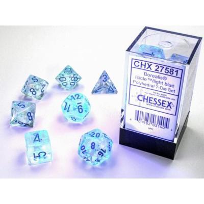 Borealis Luminary Icicle/Light Blue 7-Die Set