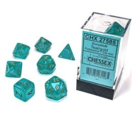 Borealis Luminary Teal/Gold 7-Die Set