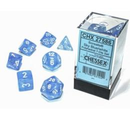 Borealis Luminary Sky Blue/White 7-Die Set