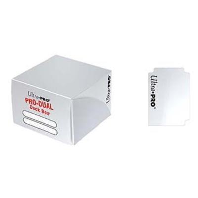 White Pro-Dual Deck Box