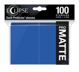 Eclipse Pacific Blue Matte Deck Protector 100ct