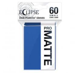 Eclipse Pacific Blue Matte Small Deck Protector 60ct