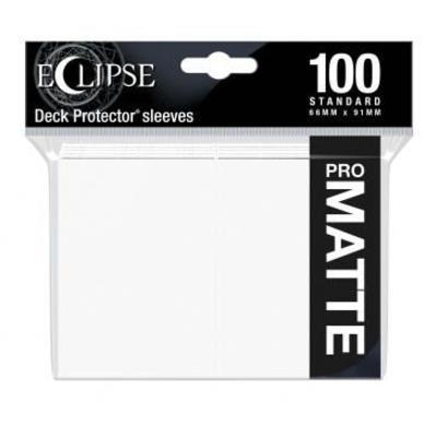 Eclipse Arctic white Matte Deck Protector 100ct