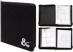 D&D Premium Zippered Character Folio