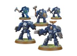 Space Marines Terminator Assault Squad