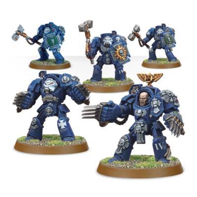 Space Marines Terminator Assault Squad