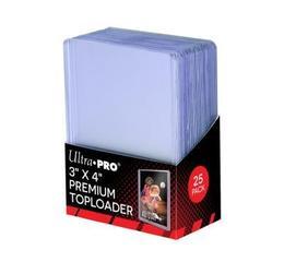 """3""""x4"""" Ultra Clear Premium Toploader 25ct"""