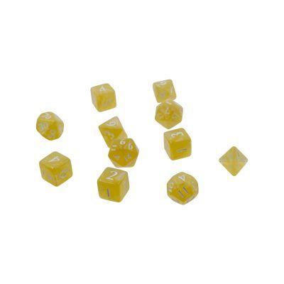 Eclipse 11-Dice Set: Lemon Yellow