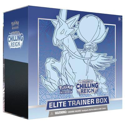 Chilling Reign Ice Rider Calyrex Elite Trainer Box