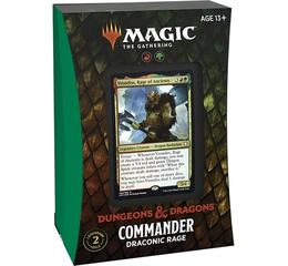 Forgotten Realms Commander Deck Draconic Rage