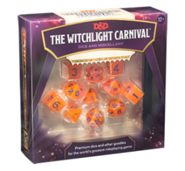 DD5 Witchlight Carnival Dice