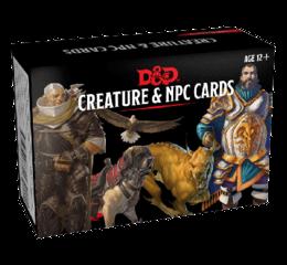 DD5 Monster Cards: NPCs & Creatures