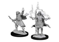 Pathfinder Deepcuts: Elf Male Sorcerer