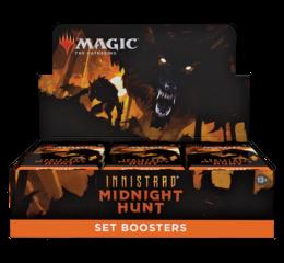 Innistrad Midnight Hunt Set Booster Display