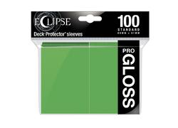 Eclipse Gloss Lime Green Deck Protector 100ct