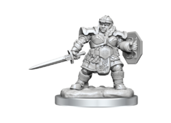 D&D Nolzur's Mini: Dwarf Female Fighter