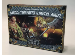 Massive Darkness 2: Bards and Tinkerers vs Metal Angel