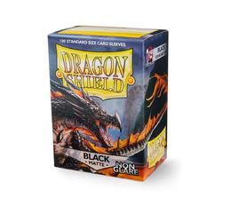 Dragon Shield Black Non-Glare Matte Deck Protector